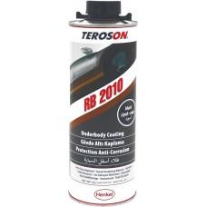Антигравий для защиты днища и колесных арок TEROSON RB 2010 черный, банка 1 кг / 1200 мл